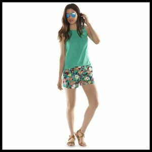 🆕 {Elle} Floral Chino Shorts